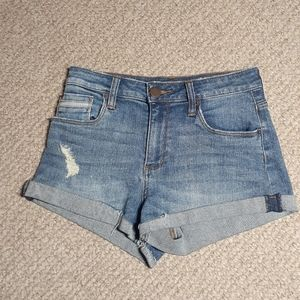STS Blue distressed Jean shorts 26x2